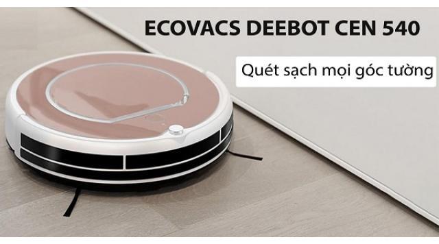 Review Ecovacs Deebot Cen540 từ trải nghiệm thực tế