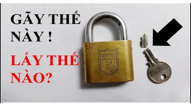Cách lấy chìa khóa bị gãy đơn giản không cần gọi thợ
