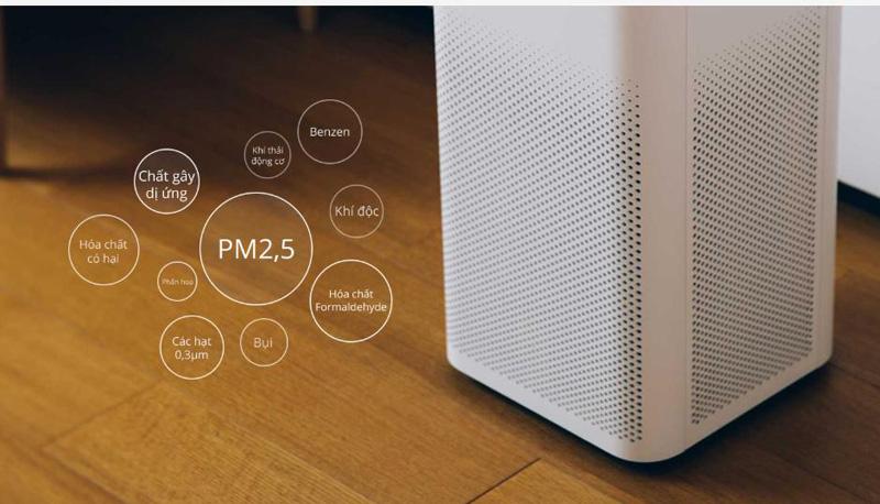 Cho không khí sạch an toàn - Máy lọc không khí Xiaomi Mi Air Purifier 2H