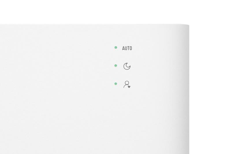 Đèn báo tiện quan sát - Máy lọc không khí Xiaomi Mi Air Purifier 2H