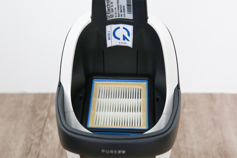 bộ lọc EPA 12 lọc sạch không khí -  Máy hút bụi không dây Electrolux PF91-6BWF 90W