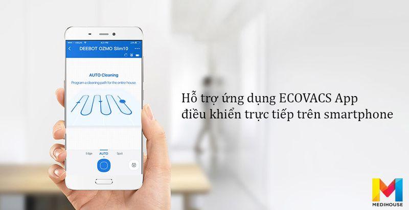 App ứng dụng Ecovacs Deebot DN520