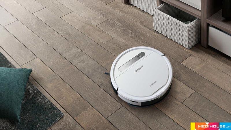 Robot hút bụi thông minh đem lại nhiều tiện ích cho người sử dụng