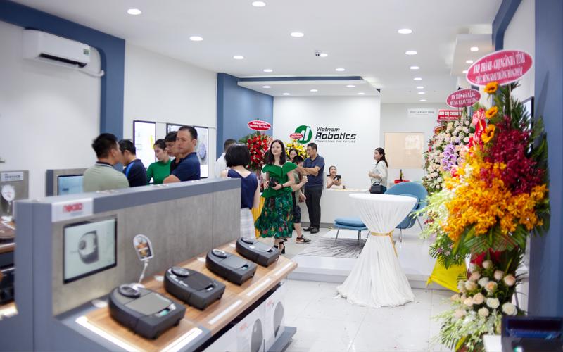 Cửa hàng Việt Nam Robotics phân bố từ Bắc vào Nam