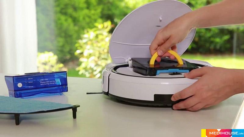 Robot hút bụi của Đức thiết kế tính tế làm sạch hiệu quả