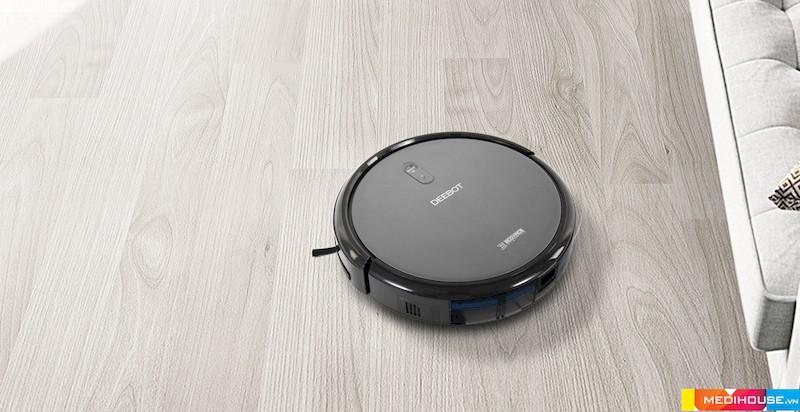 Ecovacs là robot hútbụi có rất tích hợp rất nhiều tính năng thông minh vượt trội