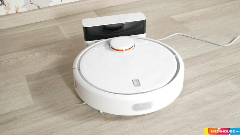 Thiết kế robot hút bụi nhỏ gọn, tối ưu